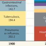 Causes of Death 1900 vs. 2010